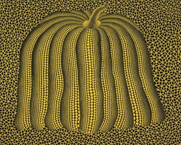 PUMPKIN acrylic Yayoi Kusama Japanese Oil Paintings