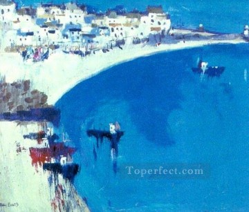 Aegean and Mediterranean Painting - yxf049hC impressionism impasto thick paints