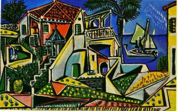 Picasso mediterranean landscape Oil Paintings