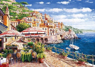 Mediterranean 14 Oil Paintings