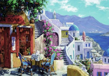 mt014 Aegean Mediterranean Oil Paintings