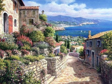 mt021 Aegean Mediterranean Oil Paintings