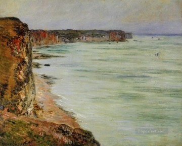Calm Weather Fecamp Claude Monet Beach Oil Paintings