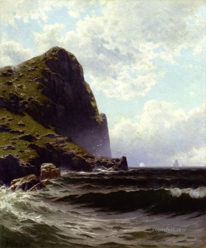 Brundith Head Grand Manan modern beachside Alfred Thompson Bricher Oil Paintings