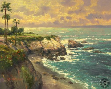 La Jolla Cove Thomas Kinkade Beach Oil Paintings