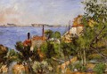 Landscape Study after Nature Paul Cezanne Beach
