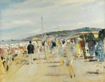 Lucien Adrion Deauville 1929 Oil Paintings