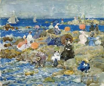 Maurice Prendergast Holiday Nahant Oil Paintings