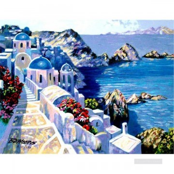 Mediterranean 18 Beach Oil Paintings