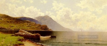 Rippling Sea Manchester Alfred Thompson Bricher Beach Oil Paintings