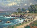 Seaside Village Thomas Kinkade Beach