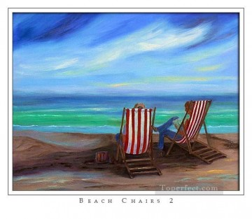 Chair Painting - beach chairs
