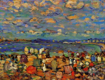 Crescent Beach Maurice Prendergast Oil Paintings