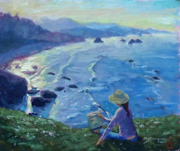 Cresent Beach Oil Paintings