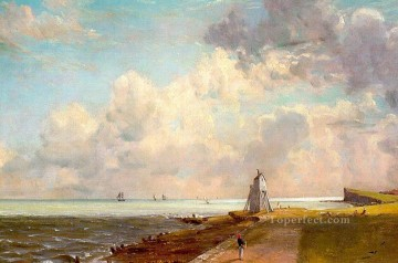 Harwich lighthouse Romantic landscape John Constable Beach Oil Paintings
