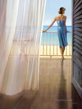 Hawaii Veranda Brent Lynch Oil Paintings