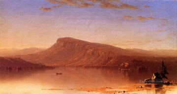 Beach Painting - In the Wilderness Twilight scenery Sanford Robinson Gifford Beach