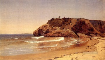 Manchester Beach 1865 scenery Sanford Robinson Gifford Oil Paintings