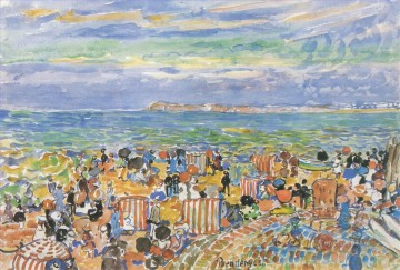 Maurice Prendergast St Malo Oil Paintings