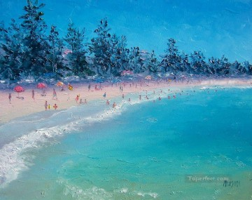 blue beach scenes Oil Paintings