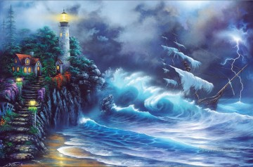 Revenge of the Sea Oil Paintings