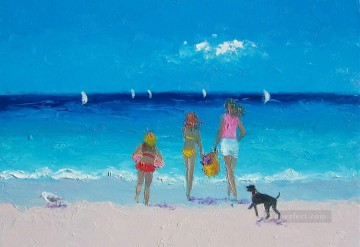 Beach Painting - Sun drenched days