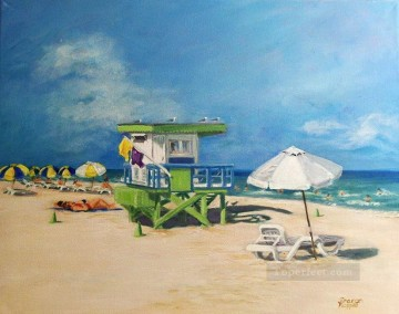 beach 13 Oil Paintings
