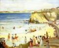Charles Conder Newquay Town Beach