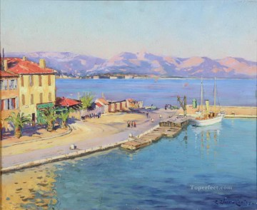 Mediterranean 20 Beach Oil Paintings