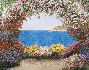 Mediterranean 22 Beach Oil Paintings