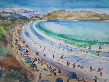 Summer at Park Beach Tasmania Oil Paintings