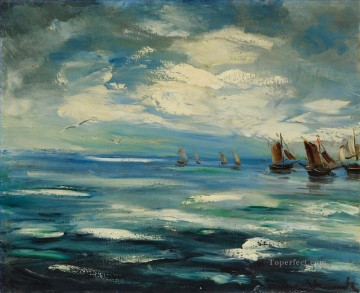 Artworks in 150 Subjects Painting - BOATS Maurice de Vlaminck vessels