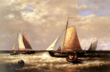 Return Art - Return Of The Fishing Fleet Abraham Hulk Snr boat seascape