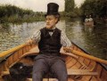 Boating Party Impressionists Gustave Caillebotte