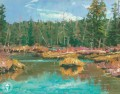 Stanley Creek Thomas Kinkade Landscapes river