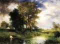 The Passing Storm landscape Thomas Moran river