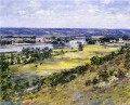 Valley of the Seine from Giverny Heights impressionism landscape Theodore Robinson Landscapes river