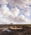 View Of Haarlem With Bleaching Grounds landscape Jacob Isaakszoon van Ruisdael river