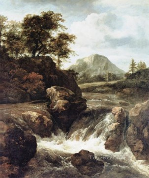 Water landscape Jacob Isaakszoon van Ruisdael river Oil Paintings