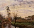 landscape with small stream 1872 Camille Pissarro