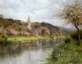 Along the seine landscape Louis Aston Knight river