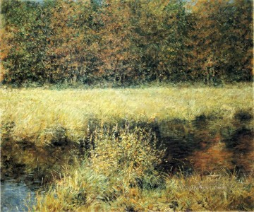 Autumn impressionism landscape Robert Reid brook Oil Paintings