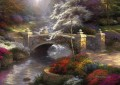 Bridge of Hope Thomas Kinkade Landscapes brook