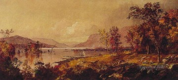 Greenwood Lake in September landscape Jasper Francis Cropsey brook Oil Paintings