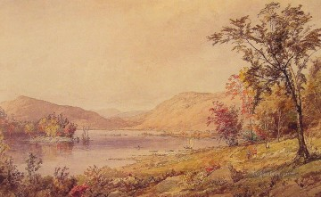 Brook River Stream Painting - Greenwood Lake landscape Jasper Francis Cropsey brook