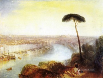 Rome from Mount Aventine Romantic landscape Joseph Mallord William Turner brook Oil Paintings