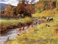 Tennessee Scene Impressionist Indiana landscapes Theodore Clement Steele brook