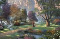 Walk of Faith full Thomas Kinkade Landscapes stream