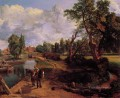 Flatford Mill CR Romantic landscape John Constable stream
