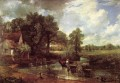 The Hay Wain Romantic landscape John Constable stream